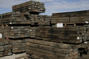 Railway Timber Sleepers