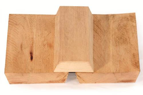 board and batten rough sawn