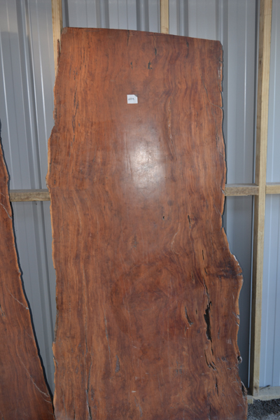 Finished Redgum Slabs Natural Edge
