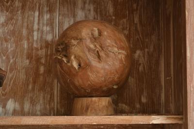 Timber Ball Garden Art