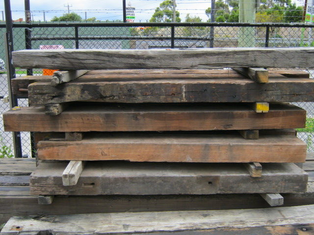 Recycled Pier Timber Jarrah