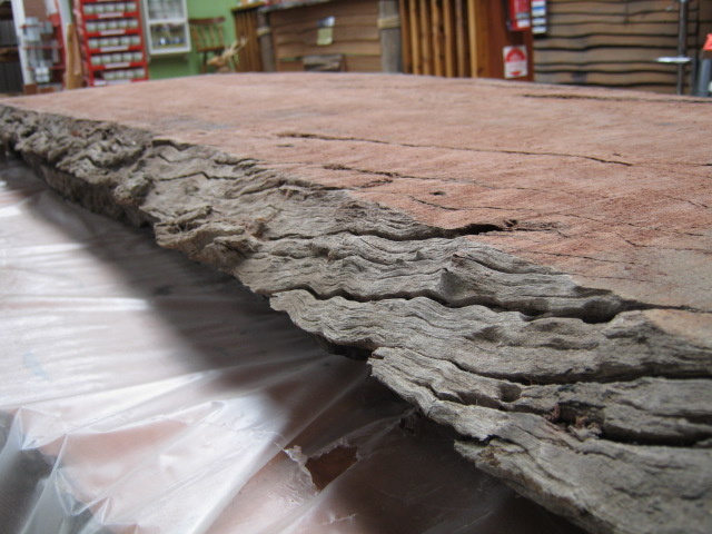 Redgum Slabs Edge