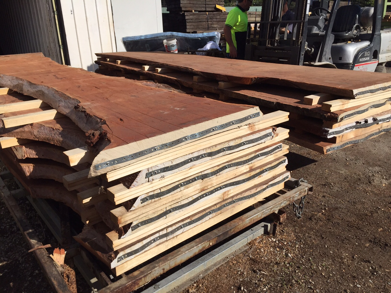 Large Redgum Slabs