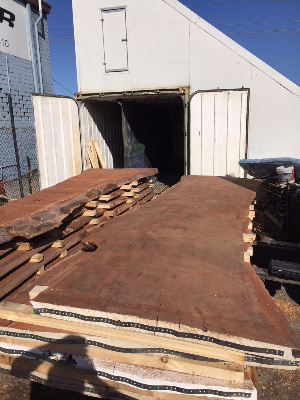 Large Redgum Slab