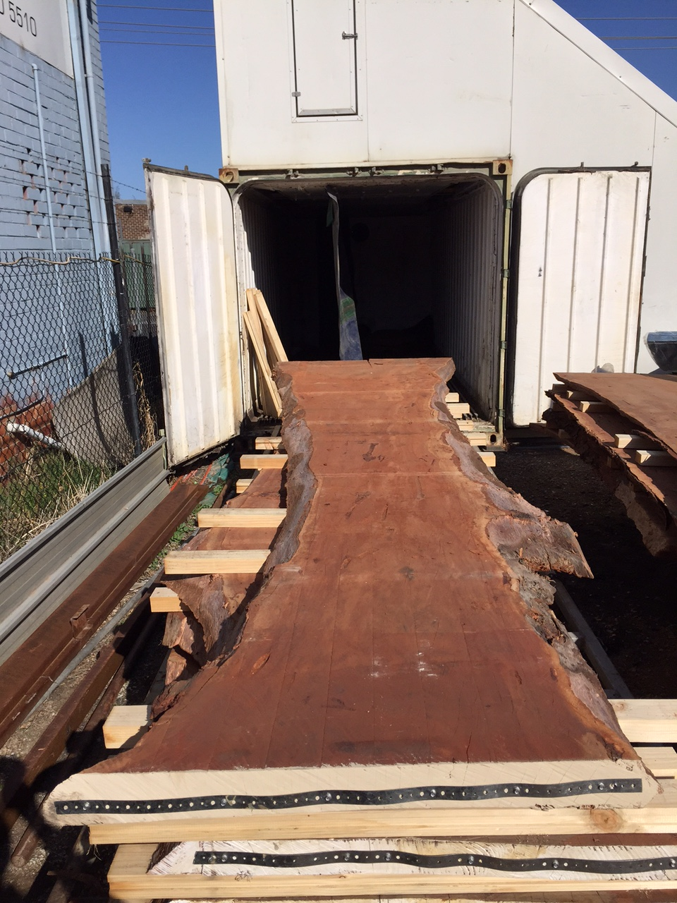 Large Redgum Slab Natural