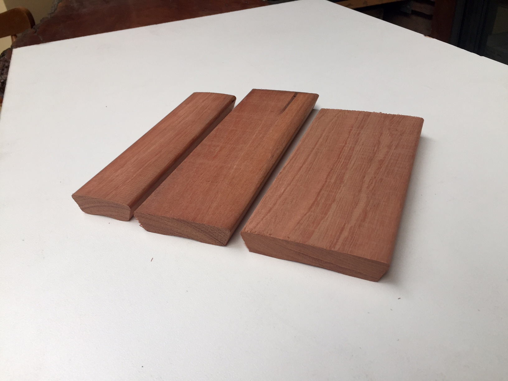 Mahogany Samples