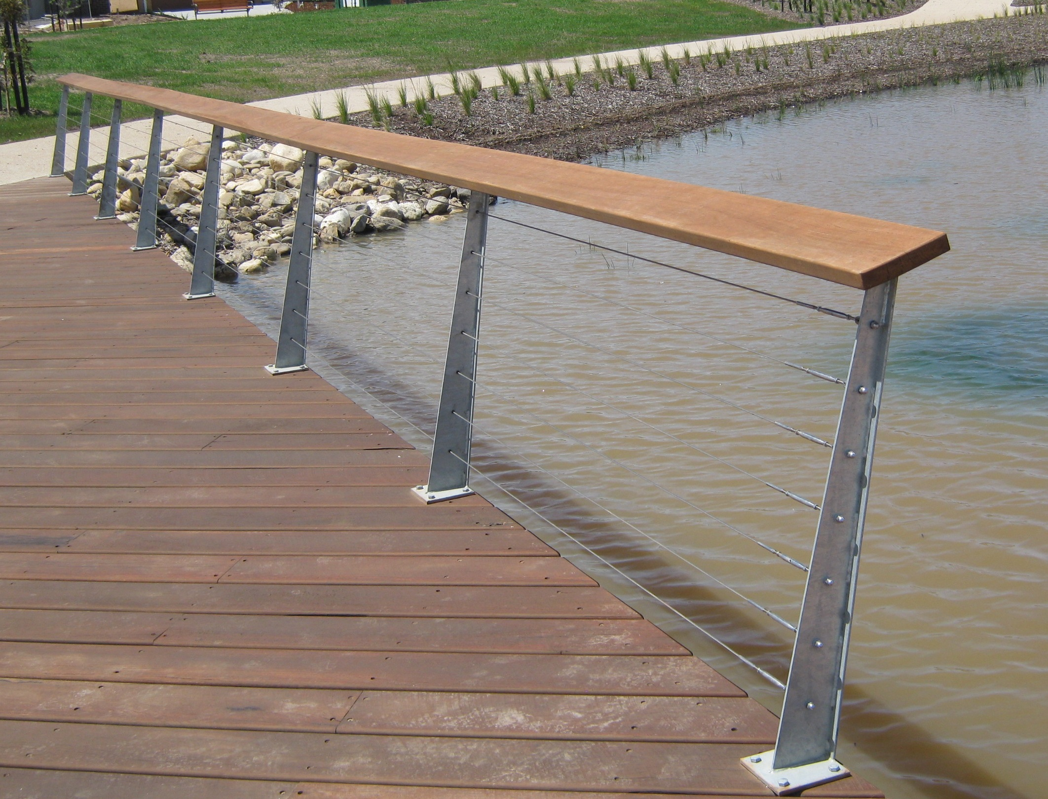 Spotted Gum Handrail F27