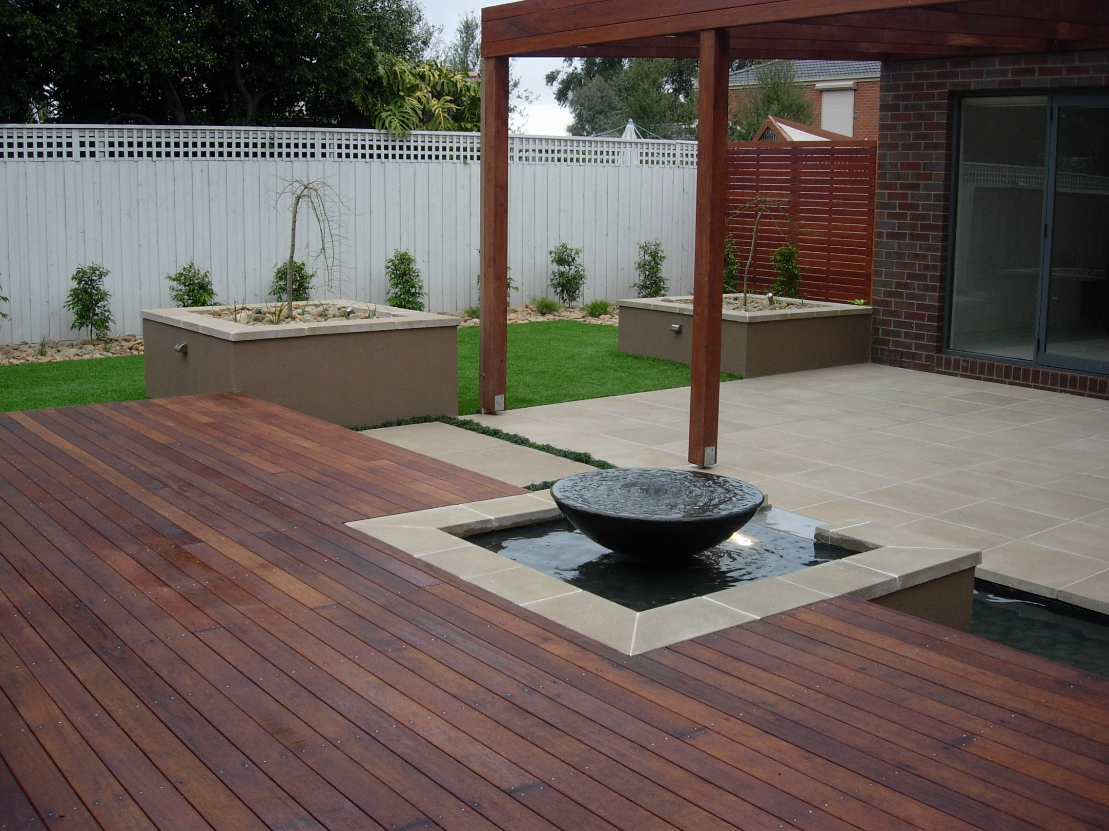 Spotted Gum Feature Deck