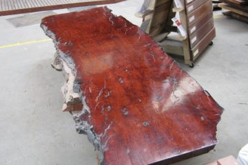 Finished Redgum Slab Hardwood