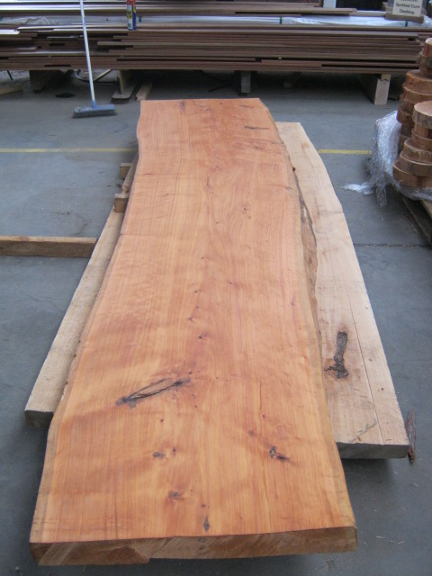 Cypress Slabs Stained