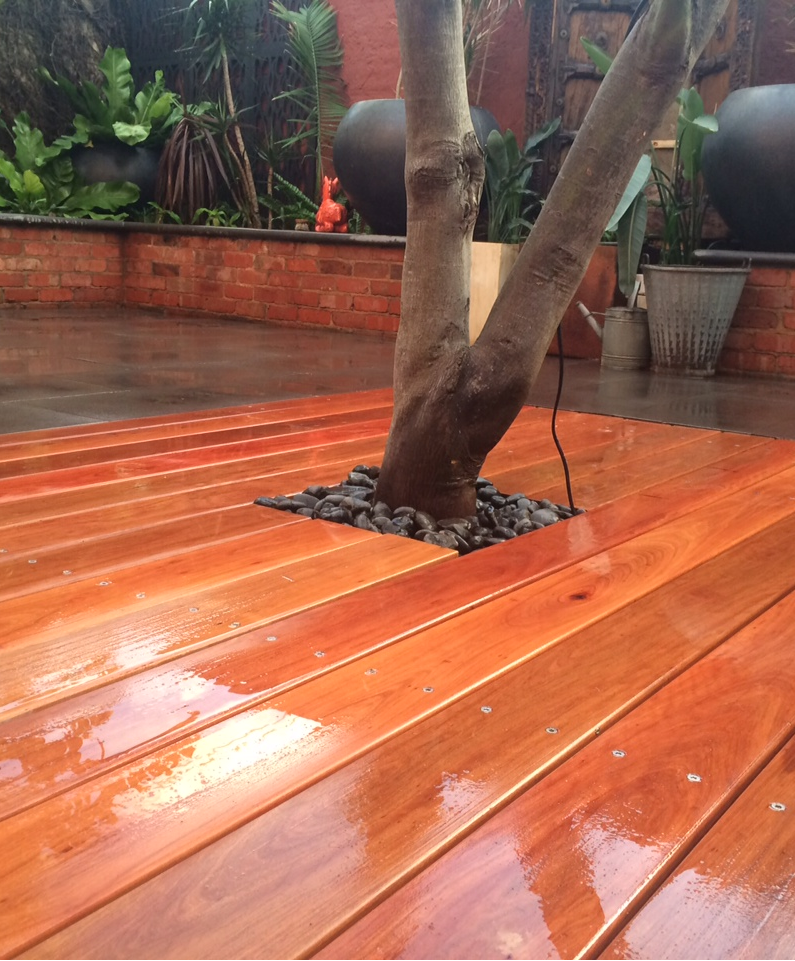 Boardwalk Decking Ironbark