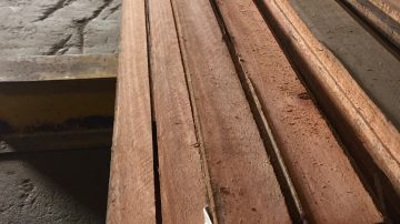 Jarrah Garden Edging