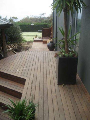 Southern Mahogany Deck Hardwood