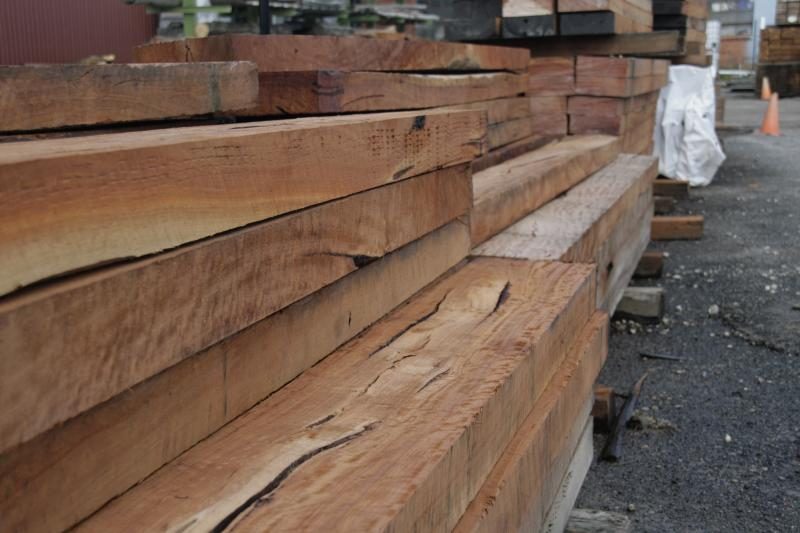 Redgum Sleepers weathered