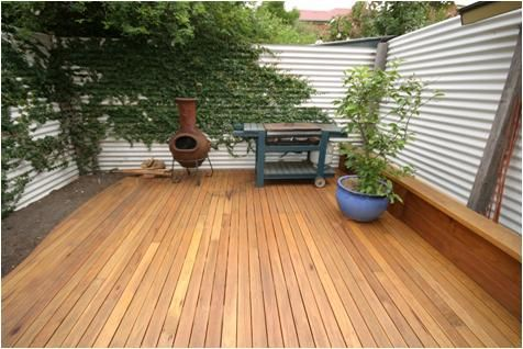 Hardwood decking silvertop ash decking outlast timber for External timber decking